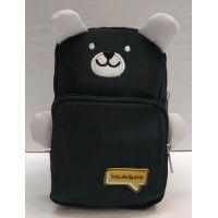 Детская сумка-бананка через плечо (чёрная) 21-05-032