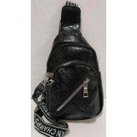 Детская сумка-бананка через плечо (чёрная) 19-09-009