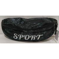 Спортивная сумка-бананка (серая) 19-09-010