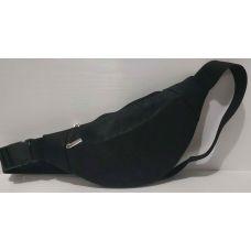 Женская сумка-бананка  (чёрная) 20-06-025