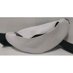 Женская сумка-бананка  (белая) 20-06-025