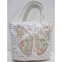 Детская сумочка с бабочкой (белая) 18-12-210
