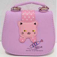 Детская сумочка - клатч (фиолетовая)17-12-148