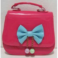 Детская сумочка - клатч с бусинками  (малиновая)17-12-149