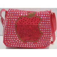 Детская сумочка с паетками (коралловая) 17-7-001