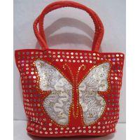 Детская сумочка с бабочкой (красная) 18-12-210