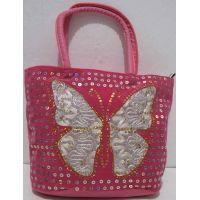 Детская сумочка с бабочкой (розовая) 18-12-210