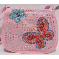Детский сумочка (светло-розовая) 18-12-211