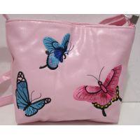 Детский сумочка с вышивкой (светло-розовая) 18-12-212