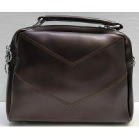 Женская сумка кросс-боди (шоколадная) 21-02-008