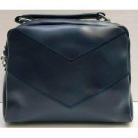 Женская сумка кросс-боди (синяя) 21-02-008