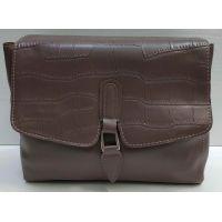Женская сумка-клатч (бургунд) 21-02-009