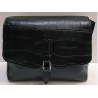 Женская сумка-клатч (чёрная) 21-02-009
