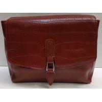 Женская сумка-клатч (красная) 21-02-009