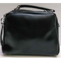 Женская сумка кросс-боди (чёрная) 21-02-016