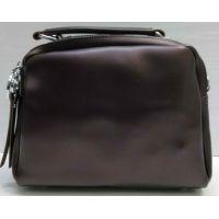 Женская сумка кросс-боди (шоколадная) 21-02-016