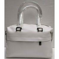 Женская кожаная сумка Alex Rai (белая) 21-03-036