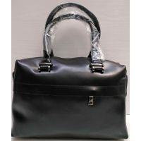 Женская кожаная сумка Alex Rai (чёрная) 21-03-036