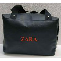 Женская вместительная сумка (чёрная №2) 21-04-005