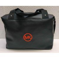 Женская вместительная сумка (чёрная №4) 21-04-005