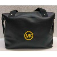 Женская вместительная сумка (чёрная №5) 21-04-005