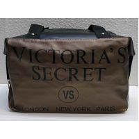 Женская тканевая вместительная сумка (коричневая №1) 21-04-007