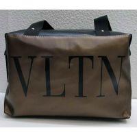 Женская тканевая вместительная сумка (коричневая №2) 21-04-007