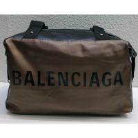 Женская тканевая вместительная сумка (коричневая №3) 21-04-007