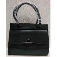 Женская классическая сумка (чёрная) 21-04-008