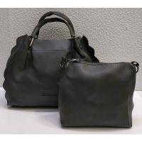 набор 2 в 1: сумочка + клатч (серый) 21-04-010