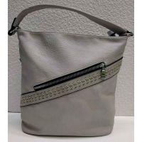 Женская сумка Suliya (серая) 21-04-015
