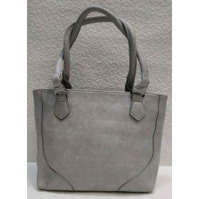 Женская сумка на каждый день (серая) 21-04-019