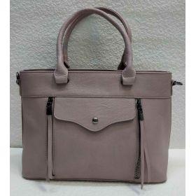 Женская сумка с карманами (бургунд) 21-04-022