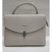 Женская стильная сумка Levynia (бежевая) 21-04-043