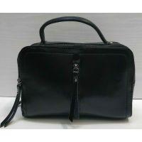 Женская кожаная сумка-клатч Alex Rai (чёрная) 21-05-019