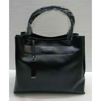 Женская кожаная сумка Alex Rai (чёрная) 21-05-021