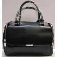 Женская кожаная сумка  Alex Rai (чёрная) 21-06-100