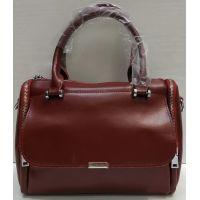 Женская кожаная сумка  Alex Rai (бордовая) 21-06-100