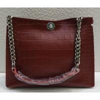 Женская кожаная сумка Alex Rai (бордовая) 21-06-101