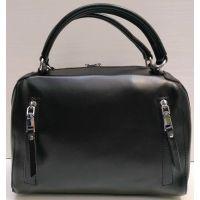 Женская кожаная сумка Alex Rai (чёрная) 21-06-102