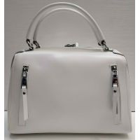 Женская кожаная сумка Alex Rai (белая) 21-06-102