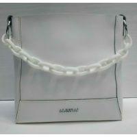 Женская кожаная сумочка-клатч Alex Rai (белая) 21-06-103