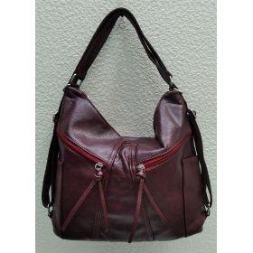 Сумка-рюкзак   (бордовая) 21-09-004