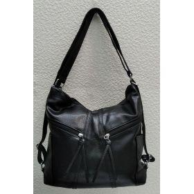 Сумка-рюкзак   (чёрная) 21-09-004