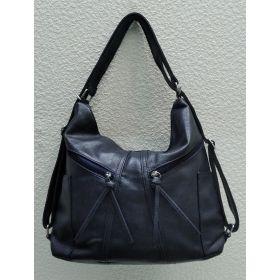 Сумка-рюкзак   (синяя) 21-09-004