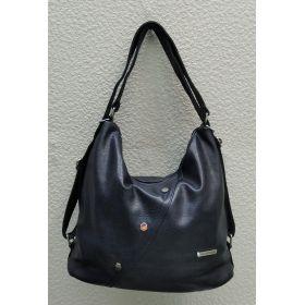 Женская сумка-рюкзак   (синяя) 21-09-005