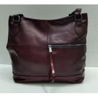 Женская сумка  (бордовая) 21-09-022