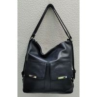 Женская сумка-рюкзак   (синяя) 21-09-024