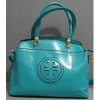 Женская глянцевая сумка (бирюзовая) 16-06-009