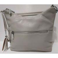 Женская сумка кросс-боди  Weiliya (светло-серая)  20-07-022
